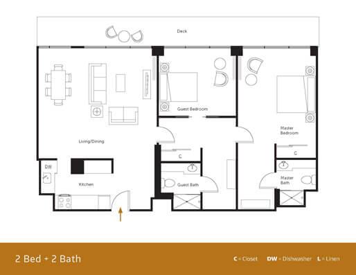HPP 2 bedroom
