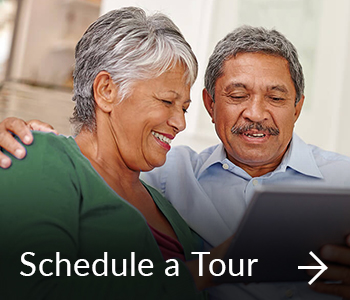 schedule a tour at mirabella portland