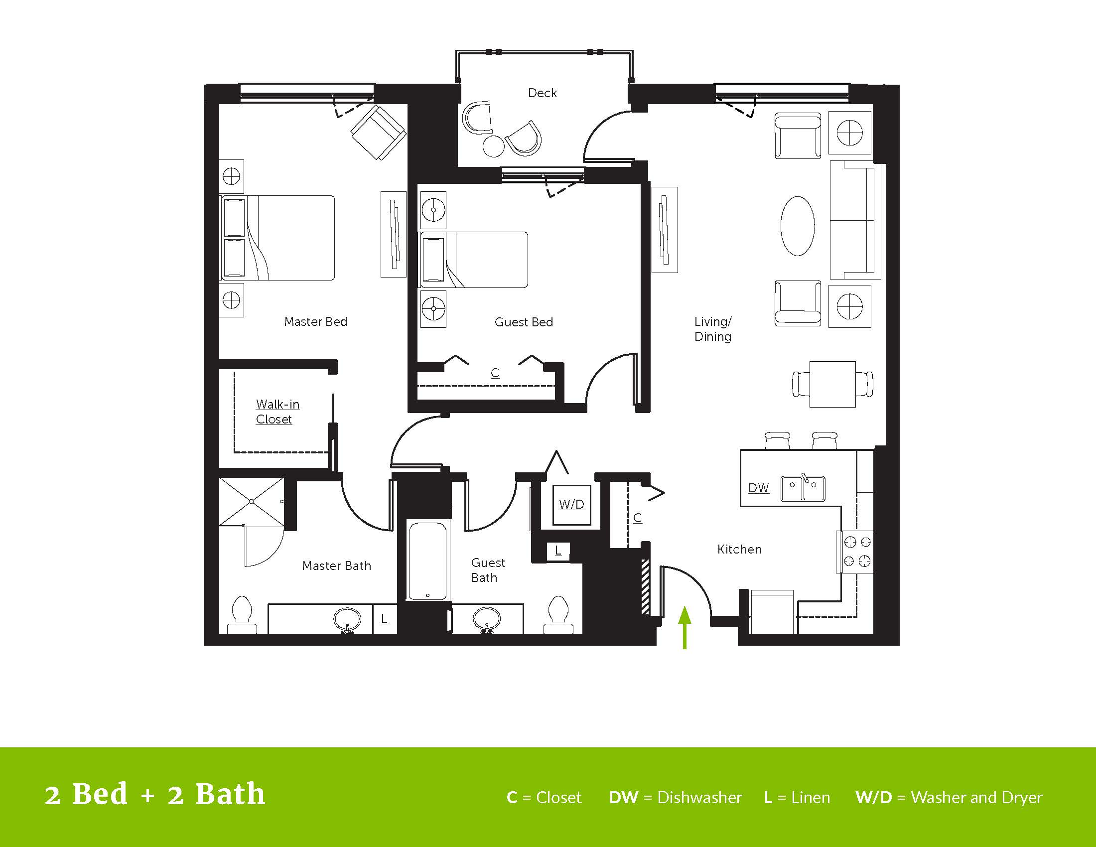 Floor Plans - Mirabella Seattle